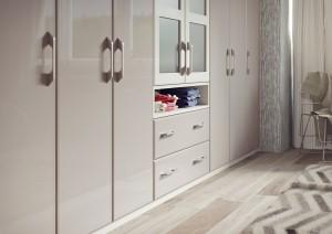 2.1 Turin - High Gloss Stone Grey & High Gloss Mussel Cameo