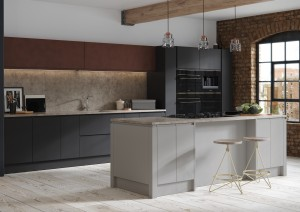 Aconbury Silver Grey, Bespoke Graphite and Foundry Tarnished Copper