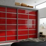Set 3 Aluminium - Chilli Red Mirror Gloss